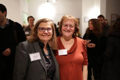 (At the Opening: Ann Marie McDonnell and Susan Grabel)